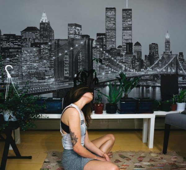 Fototapeta na ścianę - New York (Brooklyn Bridge) - 366x254cm