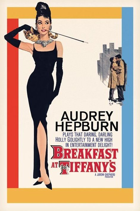 Breakfast at Tiffanys - plakat