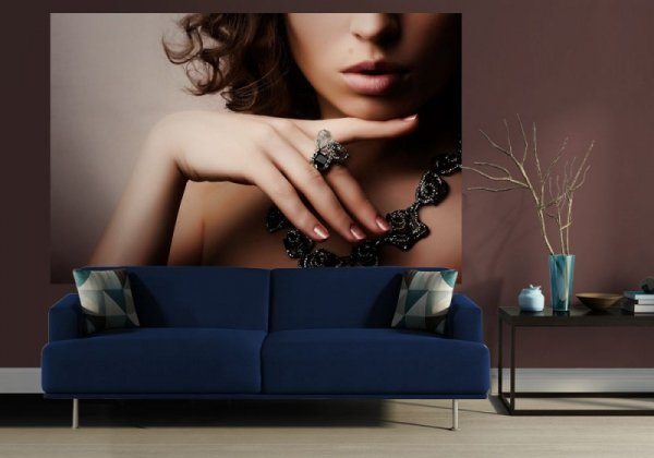 Fototapeta - Piękna kobieta, fashion art - 175x115 cm