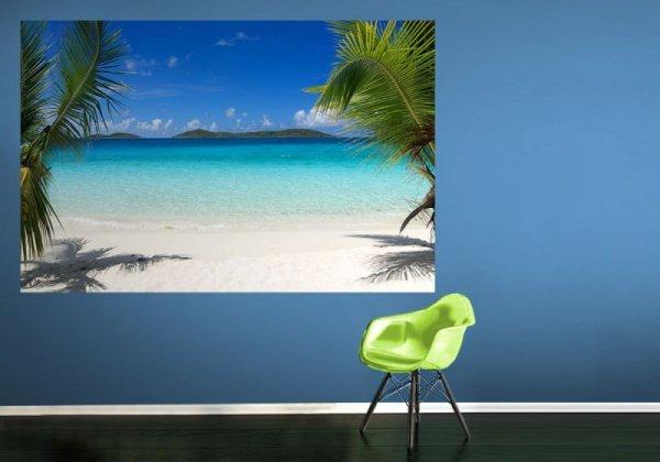 Fototapeta na ścianę - Dziewicze plaże - 175x115 cm