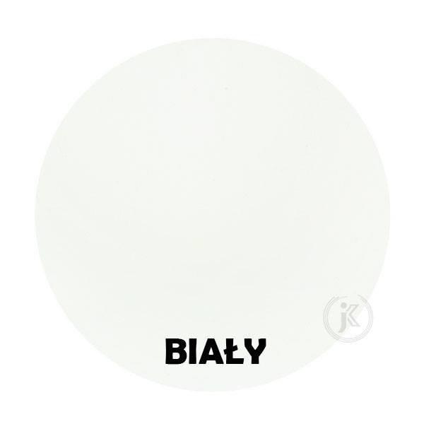 Biały - Kolor Kwietnika - Kolumna 7-ka z różą - DecoArt24.pl