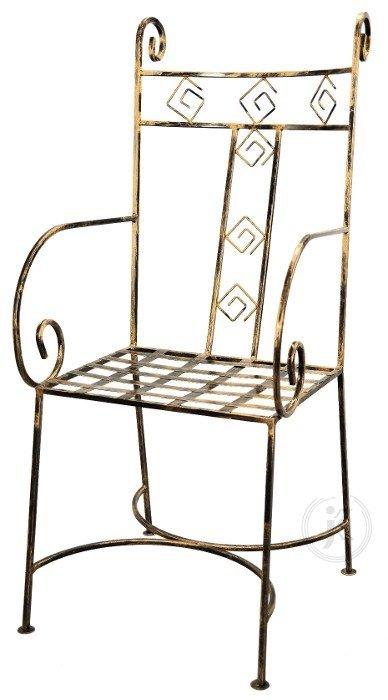 Krzesło metalowe - Metaloplastyka sklep