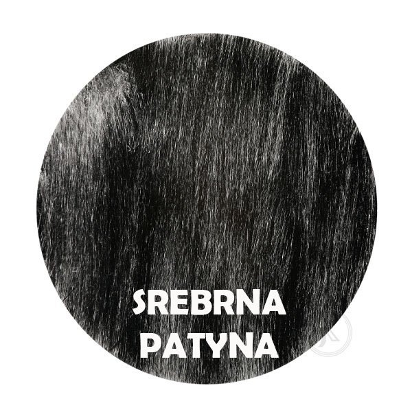 srebrna patyna - Kolorystyka metalu - Kwietnik - 1-ka -Sklep