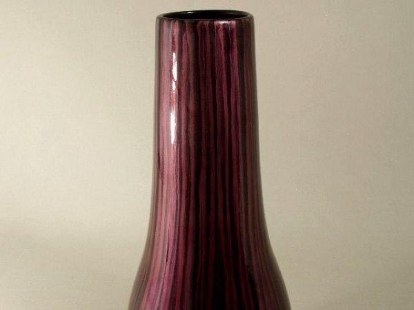 Wazon ceramiczny - Fiolet - 19x49cm