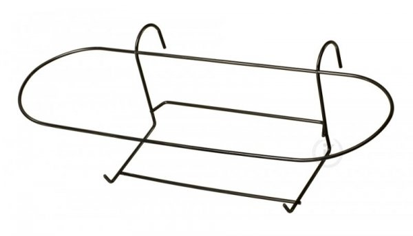 Kosz na doniczkę -  metalowy 60-ka owal (10szt.)