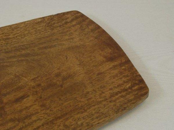 Patera na owoce - Drewniana - 25x25x4cm
