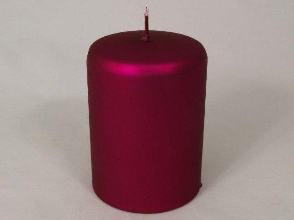 Świeca ozdobna - Kolor Biskupi - 7x10cm
