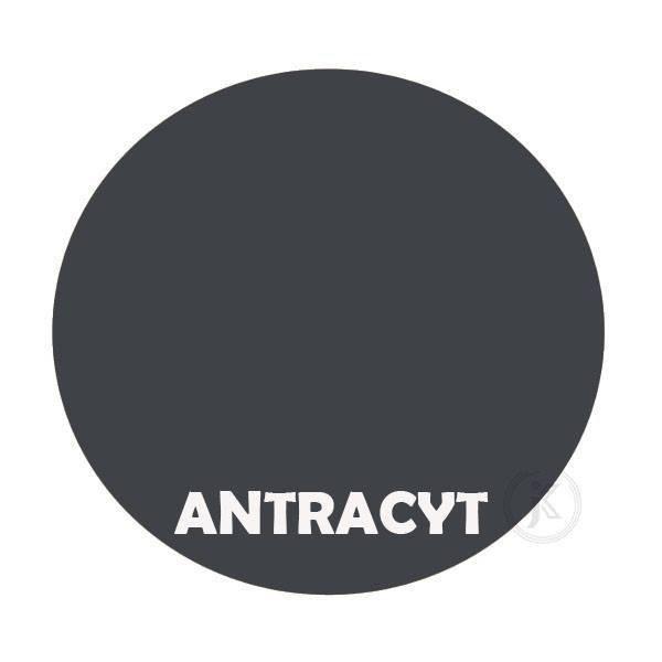 Antracyt - kolor kwietnika - Pingwin - DecoArt24.pl