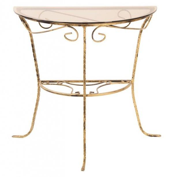 Stolik z blatem szklanym - Sklep