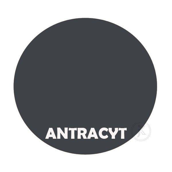 Antracyt - kolorystyka metalu - Kwietnik - Stojak na kwiaty - Sklep DecoArt24.pl