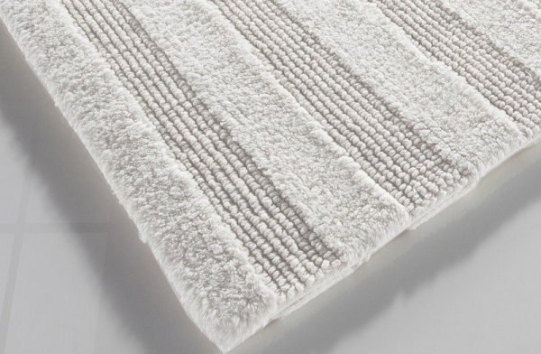 Dywanik łazienkowy - Stripes white - 50x80cm