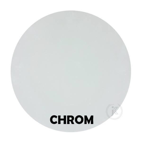 Kwietnik Laska - Kolor Chrom - DecoArt24.pl