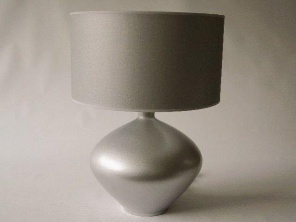 Lampa stołowa - Srebrna Magia - 40x56cm
