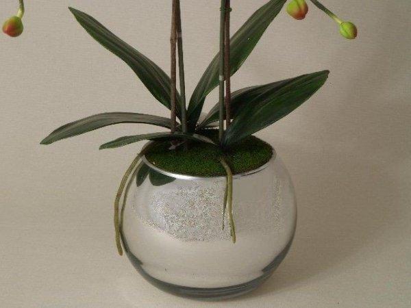 Storczyki sztuczne - Orchidea w doniczce - sklep internetowy decoart24.pl