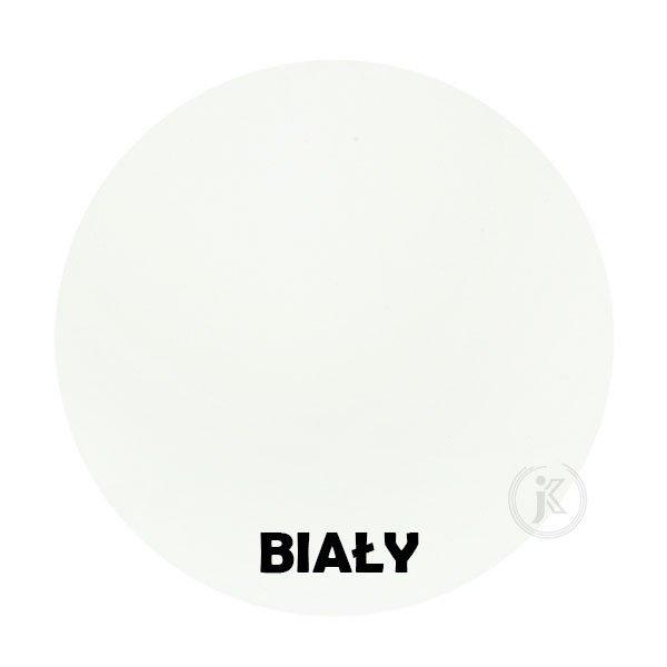 Biały - kolorystyka metalu - Kwietnik narożny - Sklep Decoart24.pl
