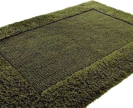 Dywanik łazienkowy - 50x75cm - Olive