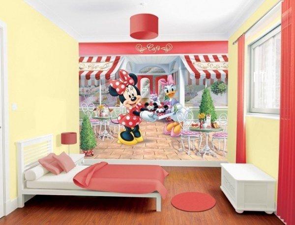 Fototapeta dla dzieci - Myszka Miki - 3D - Walltastic