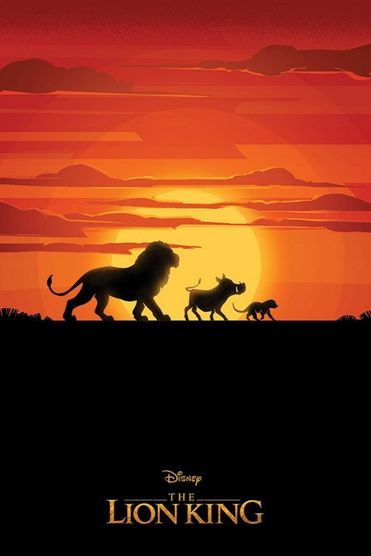 Plakat Król Lew The Lion King Long Live The King