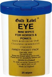 GOLD LABEL EYE MINI WIPES Chusteczki do oczu 25szt.