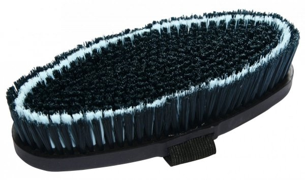 KERBL Brush&Co Szczotka dla konia dla koni z twardy włosiem