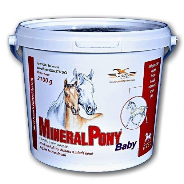 ORLING MineralPony Baby intensywne odżywienie szkieletu żrebiąt, młodych koni i klaczy