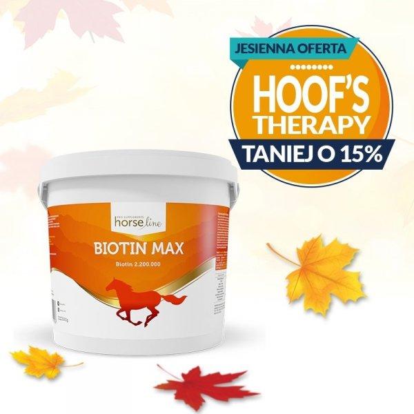 HorseLinePRO BiotinMax Biotyna wzmacniająca kopyta i sierść 3kg 24H*