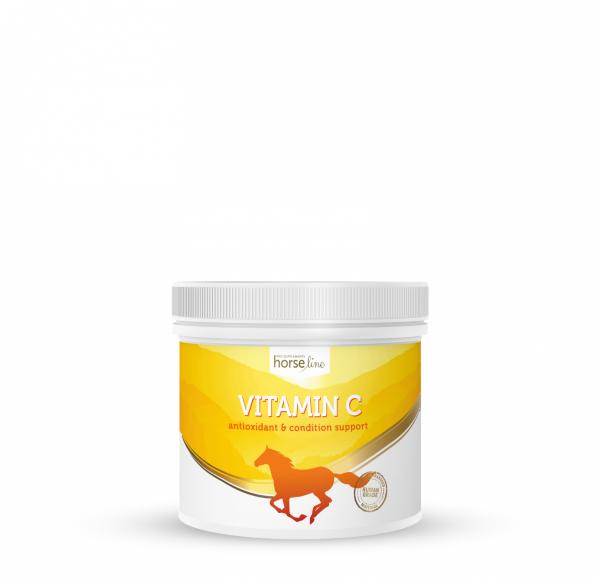 HorseLinePRO Witamina C dla wzmocnienia odporności koni 600g 24H