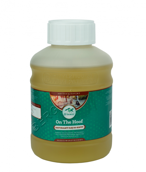 IV HORSE ON THE HOOF Olej do kopyt 500ml 24H