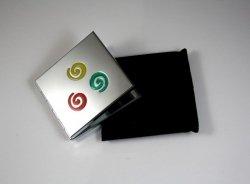 Lusterko Kolorowe Spirale +GRAWER Dla Ukochanej