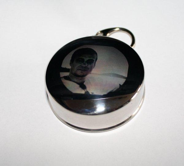 Brelok kieliszek składany z Twoim zdjęciem grawer