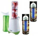 Blender Russell Hobbs 21350-56 Mix & Go Kitchen z 4 butelkami o pojemności 600 ml #wysyłka G R A T I S# * +1 rok gwarancji*