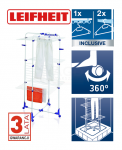 Suszarka do ubrań Leifheit 81456 Tower 450