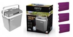 Lodówka turystyczna Camry CR 93 | 32 litry | zasilanie 12V/230V | 3 wkłady chłodzące