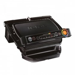 Grill elektryczny Tefal GC 7128 34 OptiGrill+ czarny