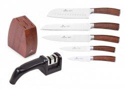 Noże Gerlach 979 Colonial zestaw noży + blok + ostrzałka Gerlach NK 606