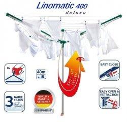 Suszarka ogrodowa Leifheit 82000 Linomatic 400 Deluxe