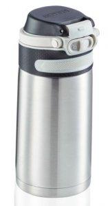 Bidon termiczny Leifheit FLIP 3244 stalowy 350ml SILVER | Kubek termiczny