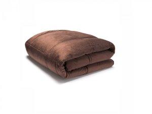 Koc w poduszce 4 w 1 Dormeo Cozy | 140 x 200 cm | 110011663 | BRĄZOWY