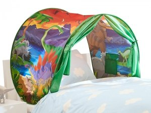 Namiot na łóżko 110001323 Dream Tents Jungle | DINOZAURY | Dormeo | Top Shop | Baldachim