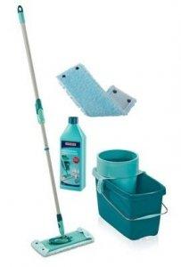 Mop obrotowy Leifheit Clean Twist Extra Soft XL 42 cm + Nakładka Extra Soft + Płyn do powierzchni mocno zabrudzonych | 52015/52016/41418