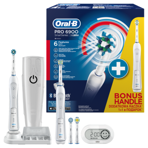 Szczoteczka Braun Oral-B Pro 6900 D36.545.5 HX #wysyłka G R A T I S#