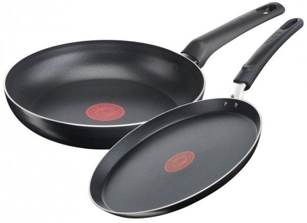 Patelnia 30/NALEŚNIKOWA Tefal Simple Cook ZESTAW B55607/B55610