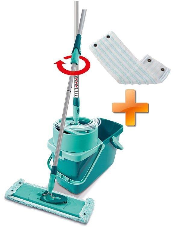 Mop obrotowy Leifheit 52014 Clean Twist M 33 cm + Nakładka Micro Duo