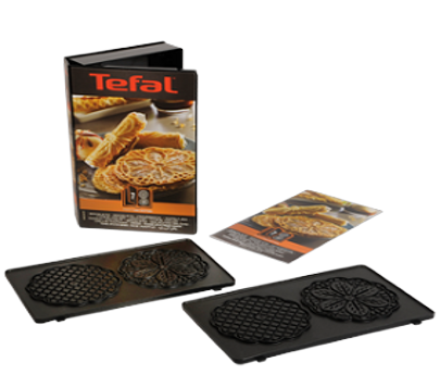 Zestaw do przygotowywania ciasteczek Bretzeli XA800712 Tefal Snack Collection