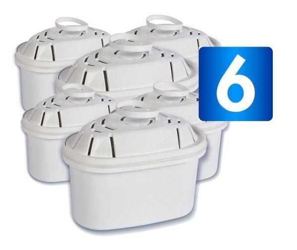6 x filtr do wody Lauson (zgodny z filtrami BRITA Maxtra)