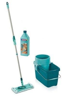 Mop obrotowy Leifheit Clean Twist M 33 cm + Płyn do mycia parkietu i paneli | 52014/41415
