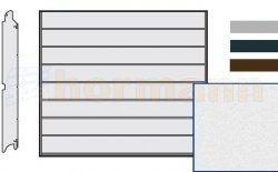 Brama LPU 42, 2190 x 1955, Przetłoczenia M, Sandgrain, kolor do wyboru