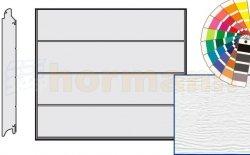 Brama LPU 42, 2190 x 2080, Przetłoczenia L, Woodgrain, kolor do wyboru