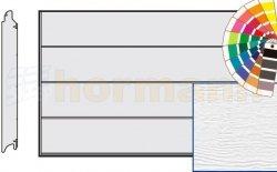 Brama LPU 42, 2750 x 2750, Przetłoczenia L, Woodgrain, kolor do wyboru