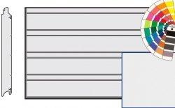 Brama LPU 42, 5000 x 2500, Przetłoczenia D, Silkgrain, kolor do wyboru